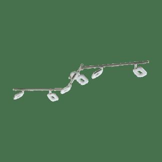Φωτιστικό Σποτ Τοίχου Led Εξάφωτο 6X4W Λευκό Χρώμα Eglo Litago 97011
