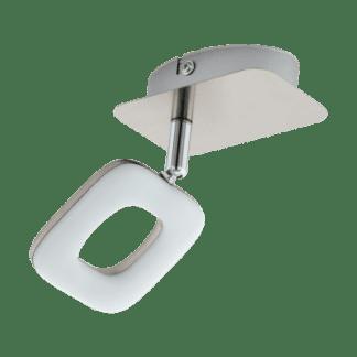 Φωτιστικό Σποτ Τοίχου Led Μονόφωτο 1X4W Λευκό Χρώμα Eglo Litago 97006