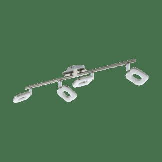 Φωτιστικό Σποτ Τοίχου Led Τετράφωτο 4X4W Λευκό Χρώμα Eglo Litago 97009