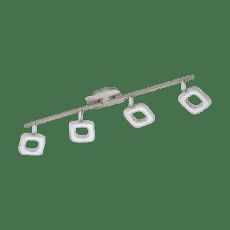 Φωτιστικό Τοίχου & Οροφής Led Τετράφωτο 4x4W Eglo Litago Crystal 97004