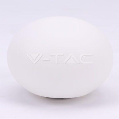 Εξωτερικό φωτιστικό LED μπαταρίας 1W RGB οβάλ επαναφορτιζόμενο vtac40141