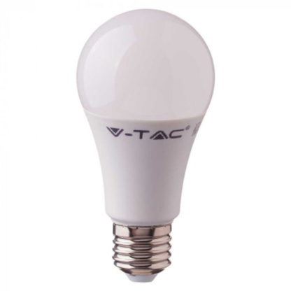 Λάμπα LED E27 A60 Samsung Chip SMD 9W Λευκό 6400K High V-TAC 230