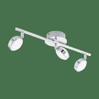 Σποτ Οροφής & Τοίχου Τρίφωτο 3×5,4W Χρωμιομένο ατσάλι Eglo Salto 95631