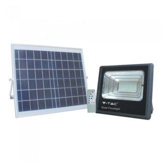 Expand LED ηλιακός προβολέας 16W Φυσικό λευκό 4000K Μαύρο σώμα V-TAC 8574