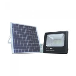 LED ηλιακός προβολέας 20W Φυσικό λευκό 4000K Μαύρο σώμα V-TAC 8575