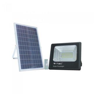 LED ηλιακός προβολέας 35W Φυσικό λευκό 4000K Μαύρο σώμα V-TAC 8576