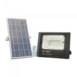 LED ηλιακός προβολέας 12W Φυσικό λευκό 4000K Μαύρο σώμα V-TAC 8573