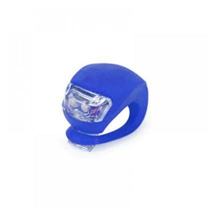 ΦΩΤΑΚΙ SILICONE LED ΠΟΔΗΛΑΤΟΥ BLUE OEM HJ008-2
