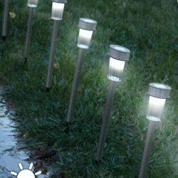 Ηλιακές Λάμπες Torch Garden ll001
