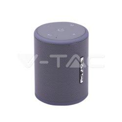 Ηχείο φορητό Bluetooth γκρι 1500mAh vtac 7720
