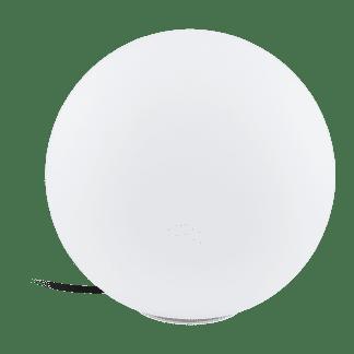 Φωτιστικό Δαπέδου Μπάλα Φ300 εξ. χώρου Λευκό Monterolo 98101 Eglo