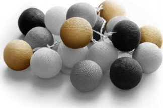 20 LED Cotton balls με φις (Night) 220-240V - 27-00435