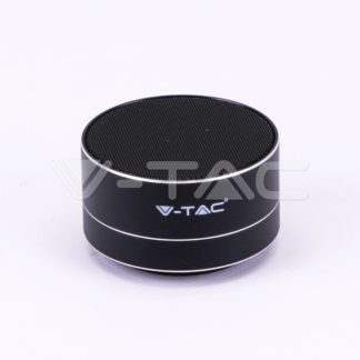 Mini ηχείο φορητό Bluetooth μαύρο 400mAh