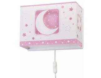 Pink Moon απλίκα τοίχου διπλού τοιχώματος 63238 S