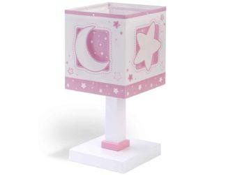 Pink Moon κομοδίνου παιδικό φωτιστικό 63231 S