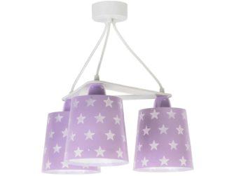 Stars Lilac κρεμαστό τρίφωτο οροφής 81214 L