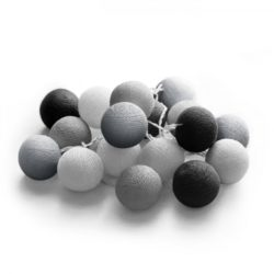 20 LED Cotton balls με μπαταρία & χρονοδιακόπτη (Glamour) 27-00423