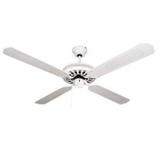 Ανεμιστήρας οροφής διακοσμητικός χωρίς φως Φ130cm 3 ταχυτήτων σε λευκό χρώμα LINEME 02-00109-1