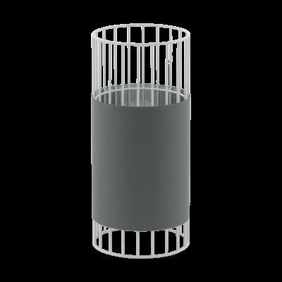 Επιτραπέζιο Φωτιστικό Μονόφωτο σε γκρί & λευκό Norumbega Eglo 97956