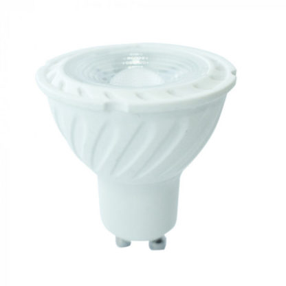 Expand Λάμπα LED Spot GU10 Samsung chip SMD 7W Λευκό 6400K Λευκό σώμα V-TAC 193