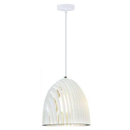 Expand Μονόφωτο κρεμαστό φωτιστικό Cone Prism με λευκό σώμα V-TAC 3952