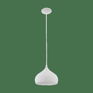 Kρεμαστό φωτιστικό μεταλλικό σε γκρί χρώμα Eglo Campillos 97798