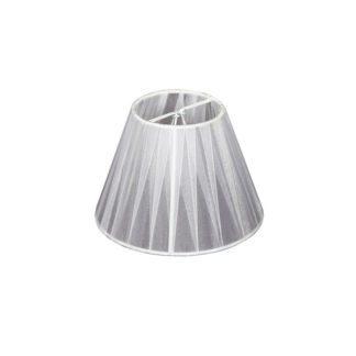 Καπέλο φωτιστικού υφασμάτινο Φ150mm σε Λευκό χρώμα VK 60080-086987