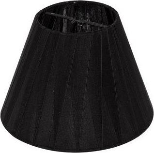 Καπέλο φωτιστικού υφασμάτινο Φ150mm σε Μαυρό χρώμα VK 60080-086987