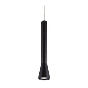 Κρεμαστό Φωτιστικό από Αλουμίνιο και Μέταλλο ισχύος 35W GU10 με Θερμό Λευκό φώς(2000K) σε μαύρο χρώμα VK 75169-253108