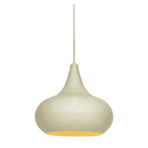Κρεμαστό Φωτιστικό 60W Φ35cm Μεταλλικό σε χρυσό χρώμα με Θερμό Λευκό φώς VK 75169-229115