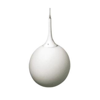 Κρεμαστό Φωτιστικό γυάλινο Φ30 E27 Milky glass VK 64174-014126