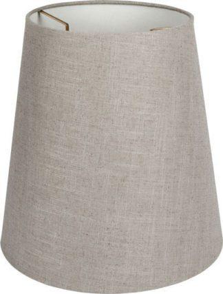 Καπέλο φωτιστικού υφασμάτινο Φ145mm σε γκρί χρώμα VK 60080-238987