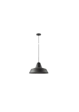 Κρεμαστό φωτιστικό μεταλλικό Φ30 x 18,5cm σε Σκούρο γκρί χρώμα VK 75169-021733