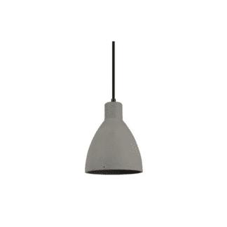 Kκρεμαστό φωτιστικό ισχύος 42W γύψινο σε γκρί χρώμα VK 64174-292131