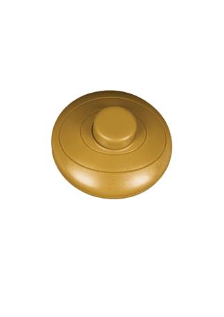 Διακόπτης ποδός στρόγγυλος σε χρυσό χρώμα VK 18126-026627