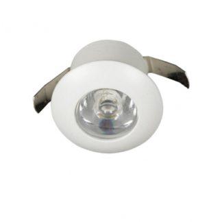 Σποτ χωνευτό LED σε λευκό χρώμα , 1W 4000K VK 64171-044126
