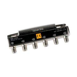 Τeleves μεταλλικός διακλαδωτής splitter 5 ways 5153