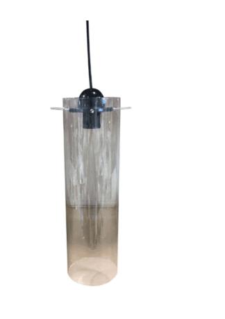 Κρεμαστό φωτιστικό κύλινδρος από γυαλί Φ12*41 TOP-9049-1