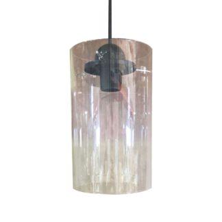 Κρεμαστό φωτιστικό κύλινδρος από γυαλί Φ15*25 TOP-9048-1
