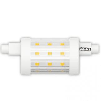 Λάμπα LED R7S Τύπου Ιωδίνης 6.5watt Θερμό Λευκό 806lm Μήκος 78mm EL897801