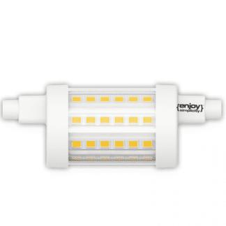 Λάμπα LED R7S Τύπου Ιωδίνης 8.2watt Θερμό Λευκό 806lm Μήκος 78mm EL897802