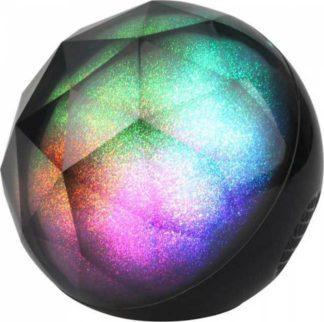 Φορητό bluetooth ηχείο εναλλαγής χρωμάτων RGB στρόγγυλο 1200mAh μπαταρία 7722