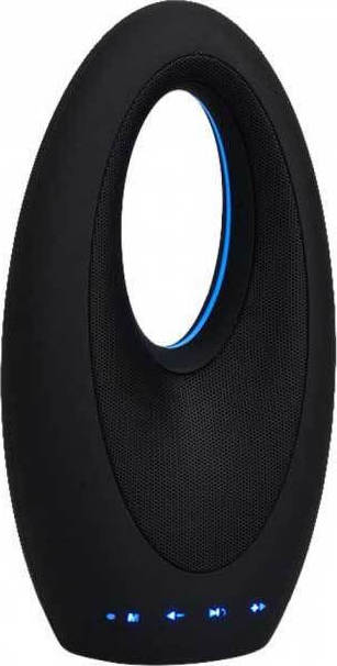 V-TAC Φορητό Ηχείο Bluetooth 6W Επαναφορτιζόμενο 1200mAh FM-USB & TF SLOT (TWS Function ) Μαύρο 7725