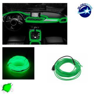 Εύκαμπτο φωτιζόμενο καλώδιο Neon Πράσινο GloboStar 08009