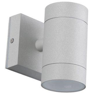 Φωτιστικό Αλουμινίου Τοίχου IP54 GU10 D65x118mm Γκρί Χρώμα VK 5169-183997