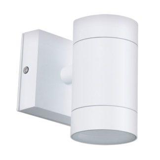 Φωτιστικό Αλουμινίου Τοίχου IP54 GU10 D65x118mm Λευκό Χρώμα VK 75169-180997