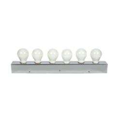 Φωτιστικό Μπάνιου Μεταλλικό E27x6 Λευκό Χρώμα VK 57610-146126