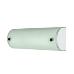 Φωτιστικό Τοίχου Με Μεταλλική Βάση & Γυαλί Οπάλιο Ε14 Μήκους 24cm VK 75169-214115