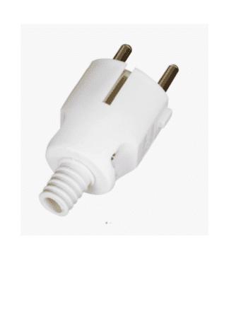 Φις σουκο πλαστικό αρσενικό σε λευκό χρώμα VK 20081-105639