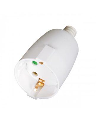 Φις σουκο πλαστικό θηλυκό σε λευκό χρώμα VK 20081-106639